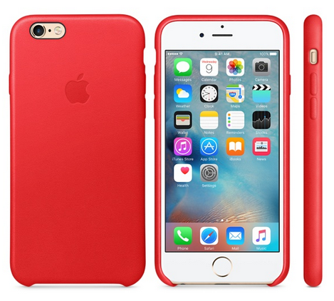 funda iphone6 roja